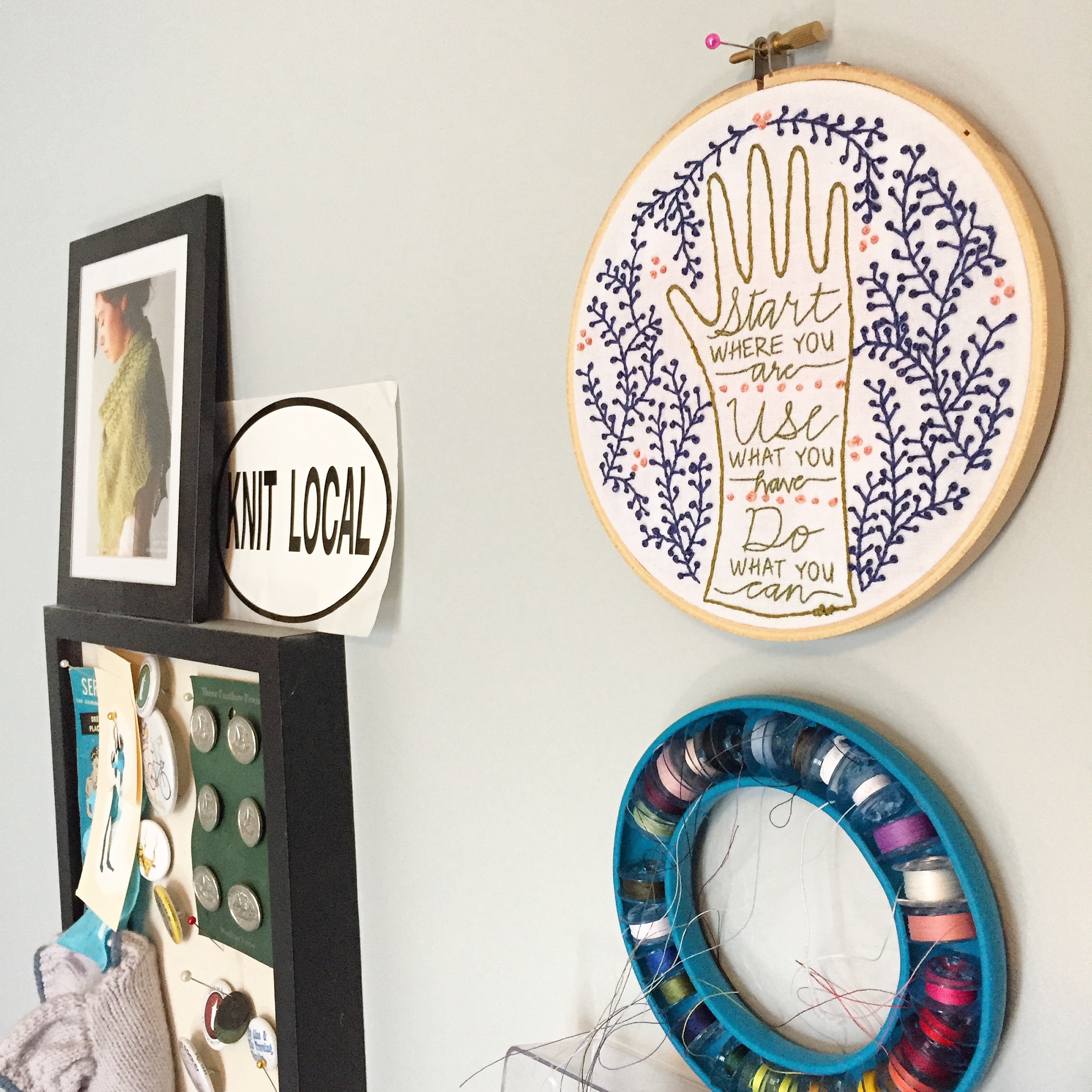 Start Where You Are Embroidery