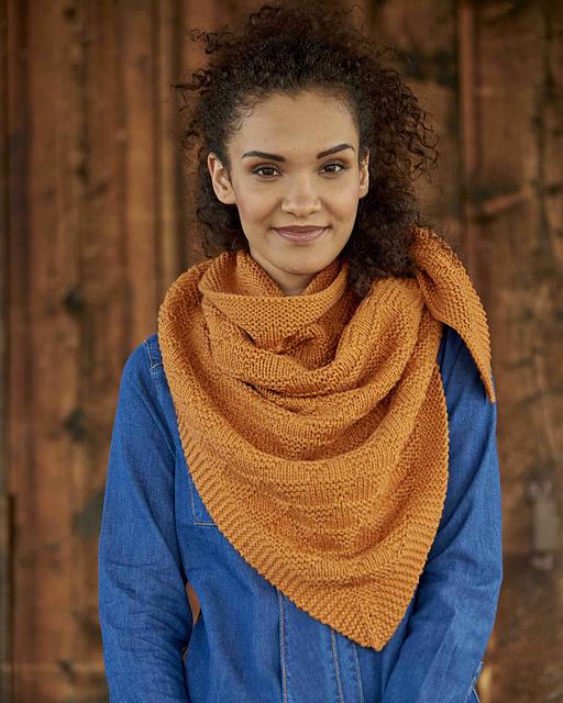 Fireside Shawl by Leah B. Thibault from Weekend Wraps