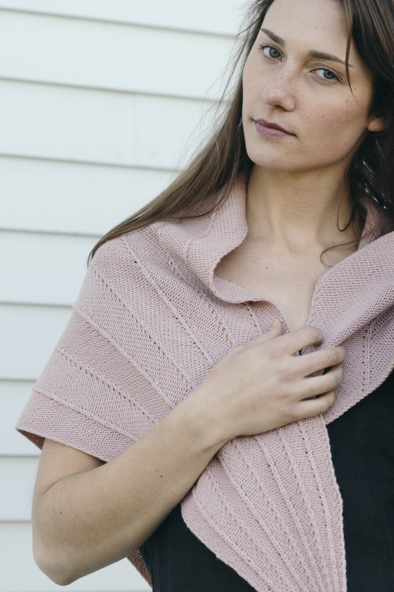 Paper Bird shawl by Leah B. Thibault for Quince and Co.
