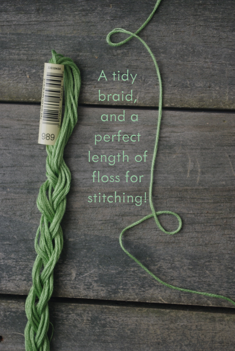 Embroidery Floss Tutorial by Ms. Cleaver