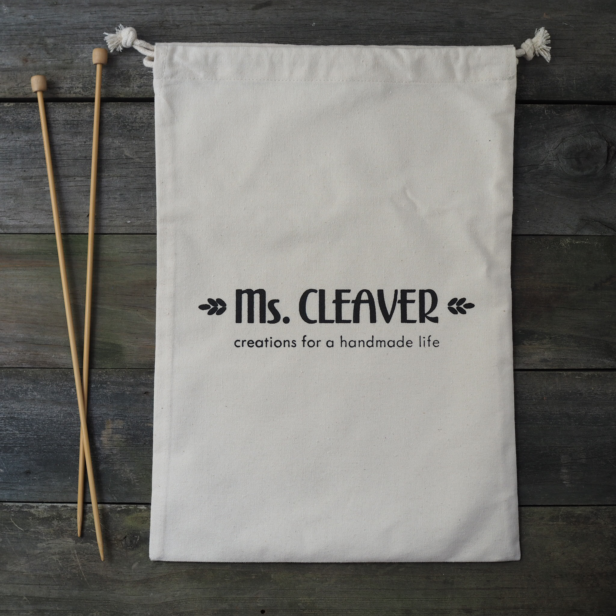Ms. Cleaver Creations Project Bag