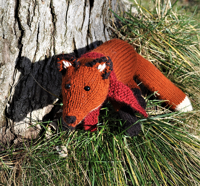 Fleet Fox - knit by littlelena