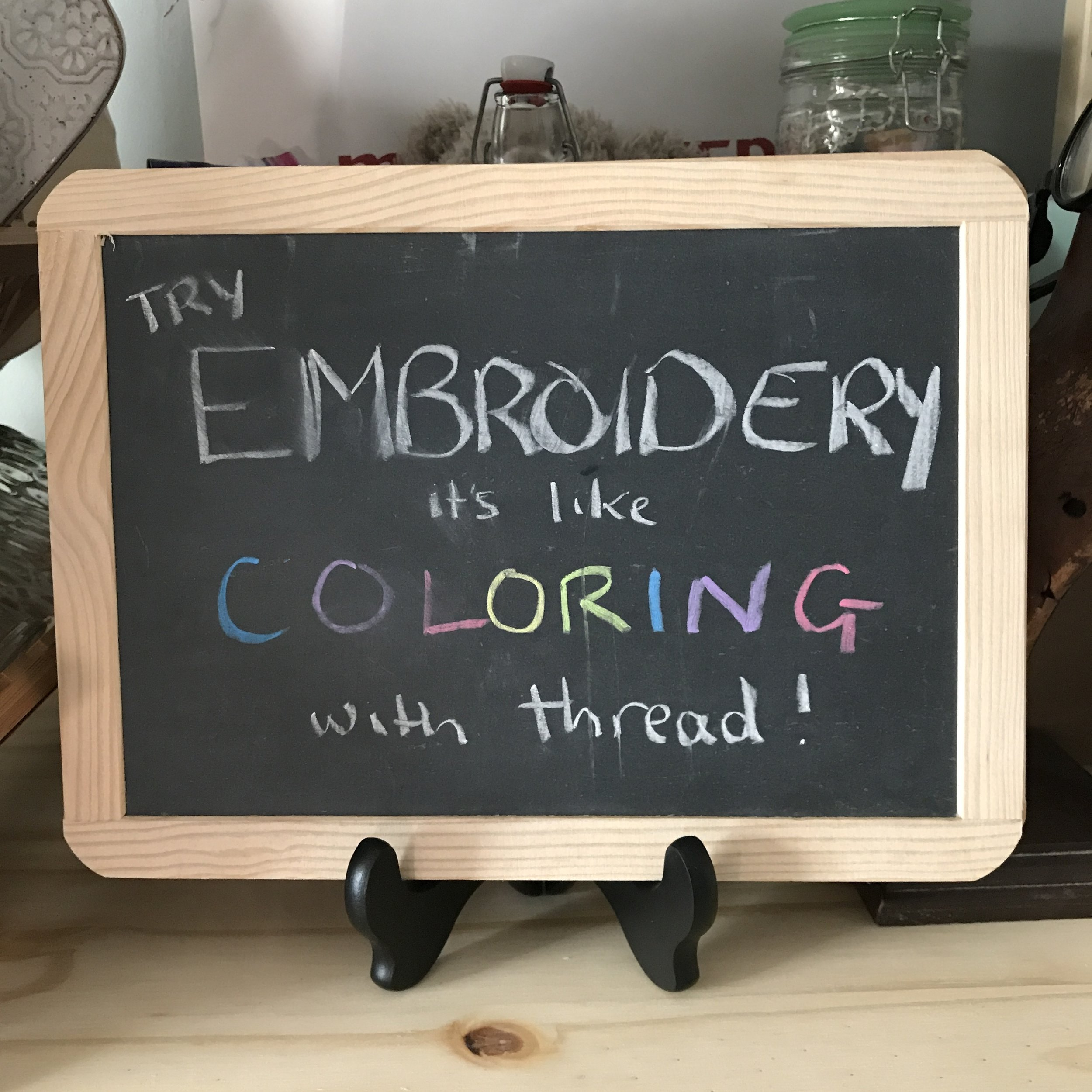 Try Embroidery