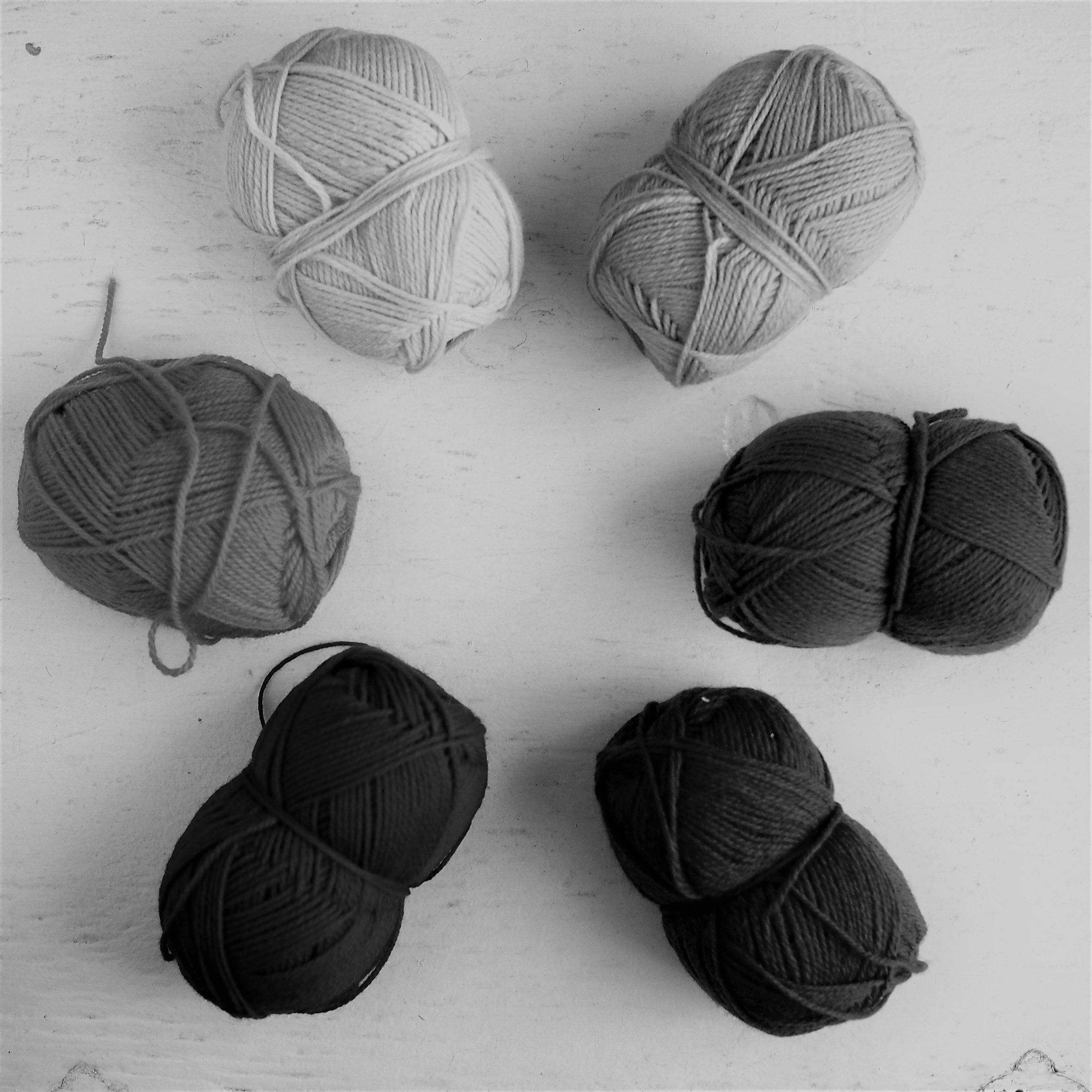 Greyscale colorwheel