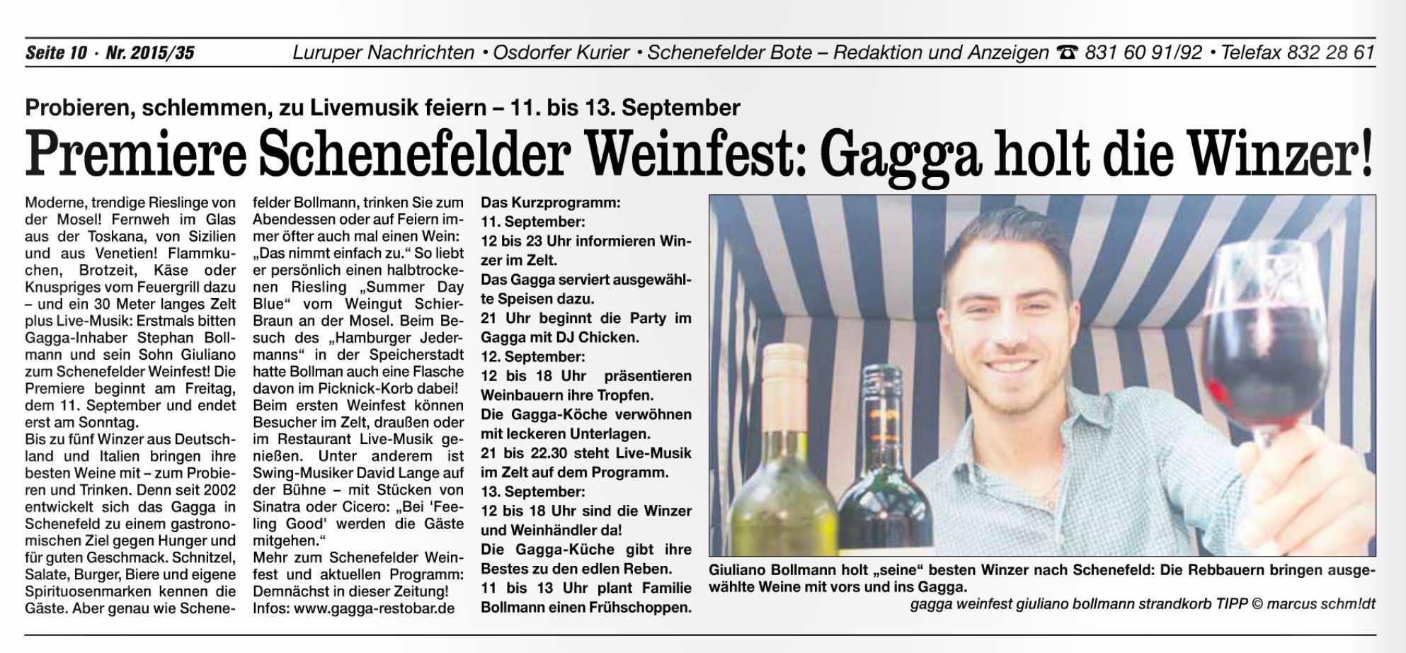 Quelle: Schenefelder Bote vom 26.08, Seite 10