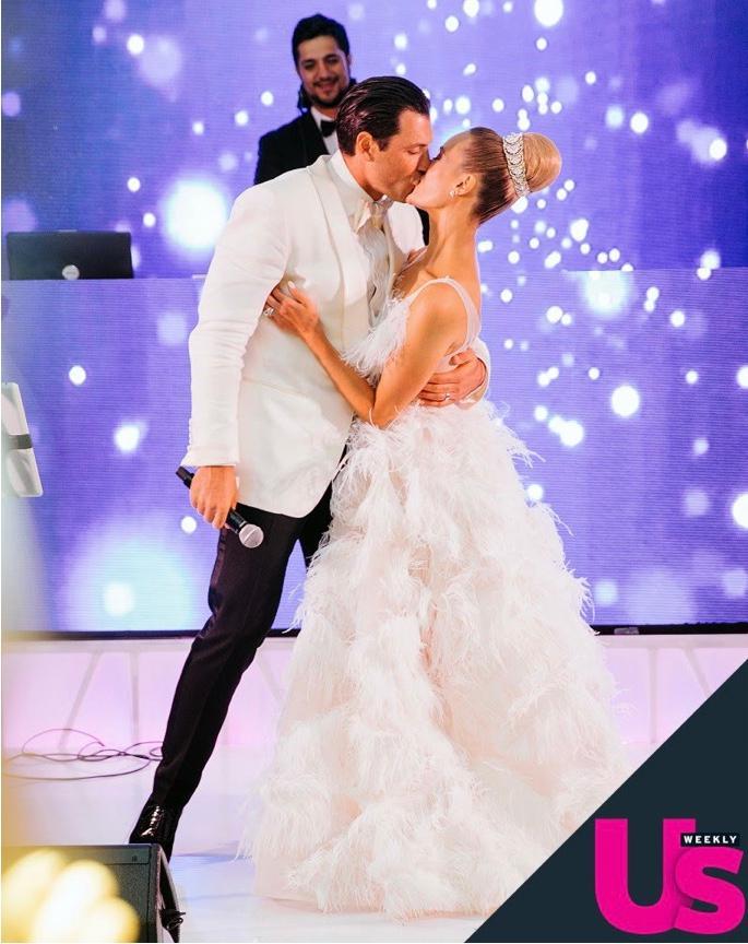 Read all about it ! - https://www.usmagazine.com/stylish/pictures/inside-peta-murgatroyd-and-maksim-chmerkovskiys-fairytale-wedding-w491828/gorgeous-florals-w491847/https://www.brit.co/best-celebrity-wedding-dresses-2017/https://www.etonline.com/13-most-stunning-celebrity-wedding-dresses-2017-93002