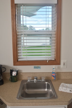 Lucky Horseshoe Cabin #21 - Interior Kitchen Sink.JPG