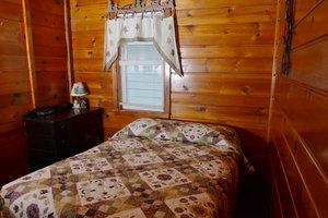 Lucky Horseshoe Cabin #19 - Interior Bedroom.JPG