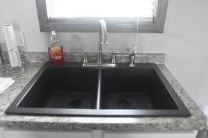 Lucky Horseshoe Cottage #17 - Interior Kitchen Sink.JPG