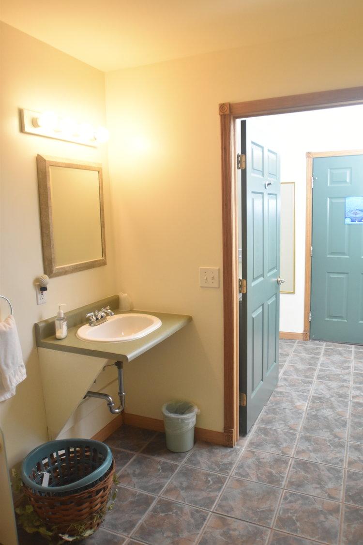 Blue Spruce Motel - Room Number 8 - Interior Bathroom Sink - Barrier Free.jpeg