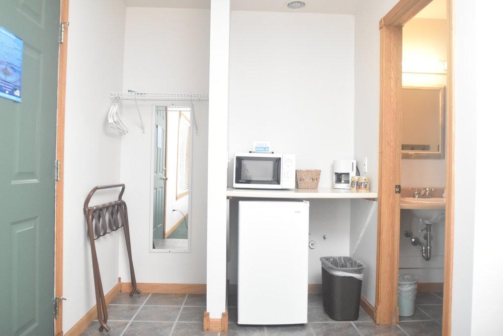 Blue Spruce Motel - Room Number 9 - Interior Fridge.jpeg