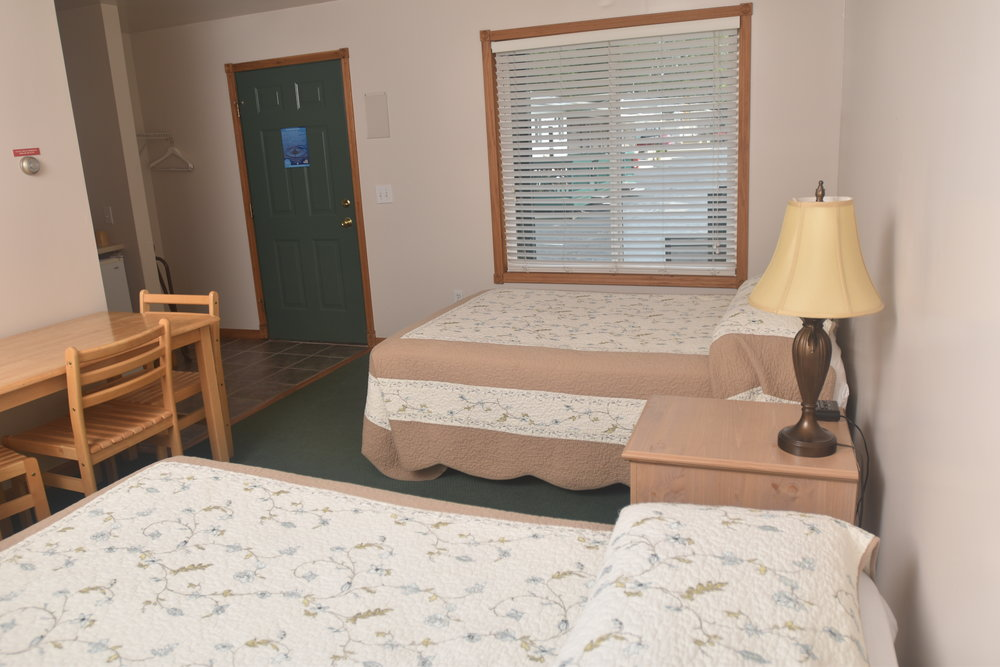 Blue Spruce Motel - Room Number 10 - Interior Beds and Entry.jpeg