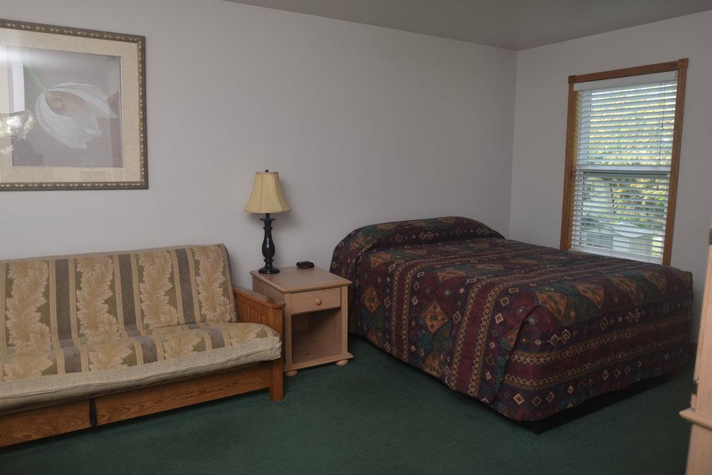 Blue Spruce Motel - Room Number 12 - Interior Bed & Futon.jpeg