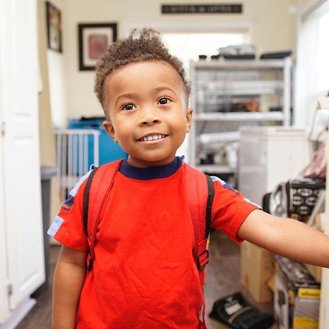 Last day of preschool! So proud of my little homie!