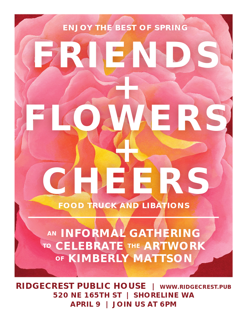 Kimberly Mattson Change of Art Party — Ridgecrest Public House