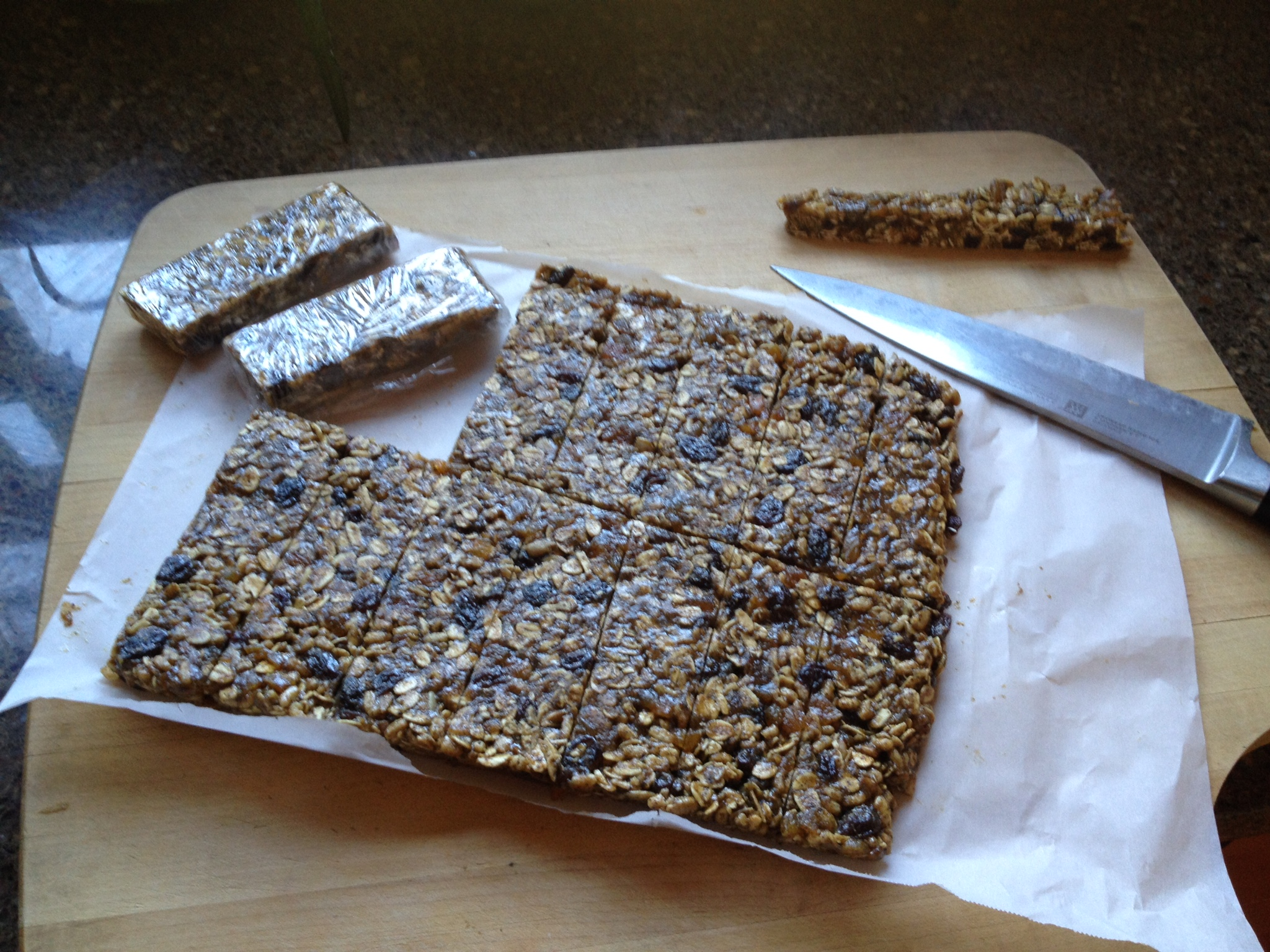 Chewy Protein Bars