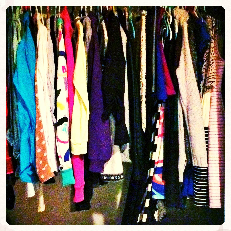 Spring Closet Cleanse 2015