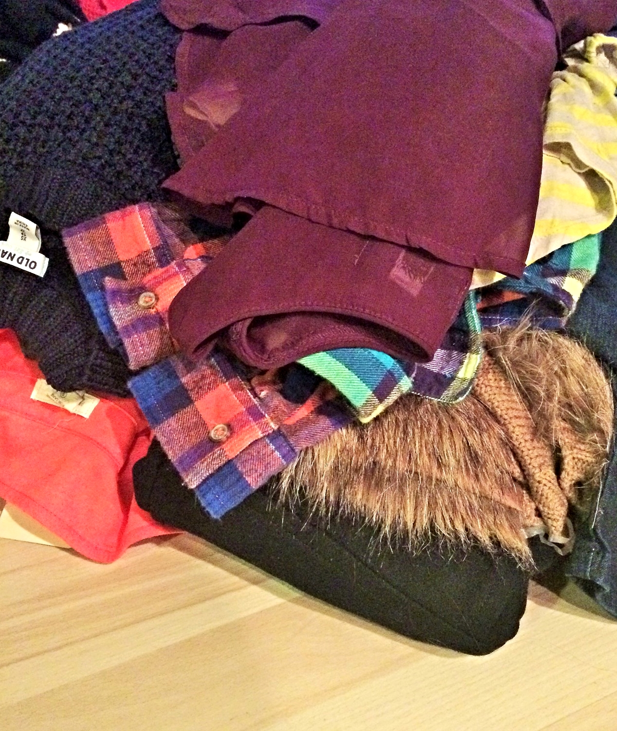 Spring Closet Cleanse 2015- some of the giveaways