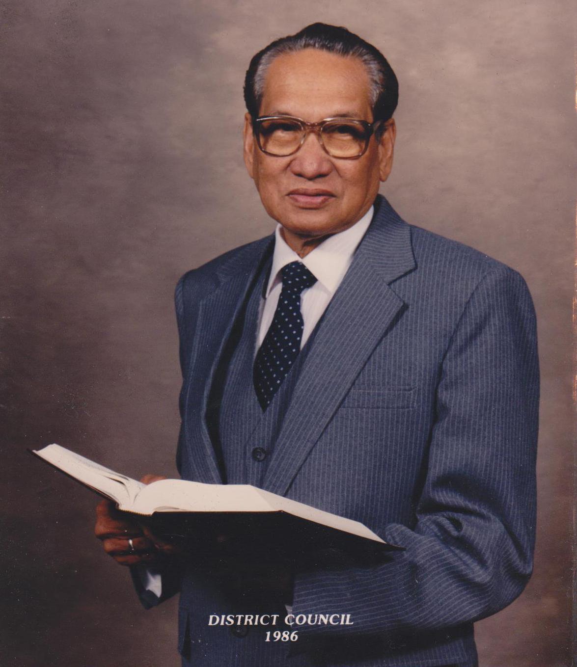 Rev. Eliseo Sadorra  Founder
