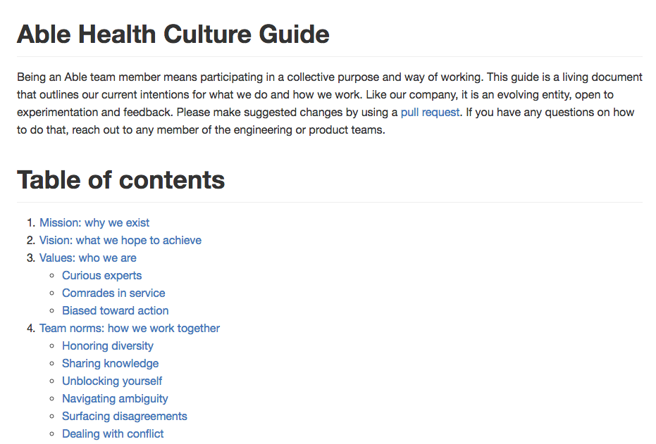 Able's Culture Guide on github