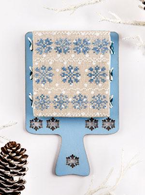Original Snowflake Hornbook design