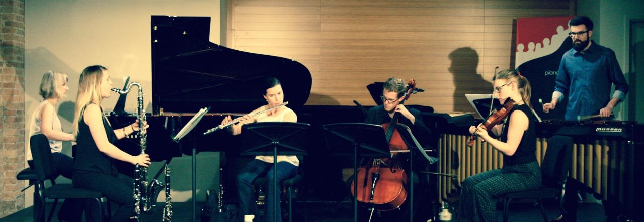 Lakeshore Rush performing at PianoForte Studios