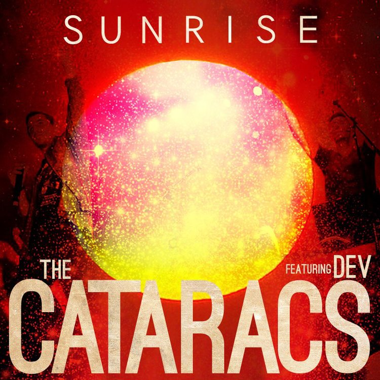 The Cataracs & Dev - Sunrise - Cover Artwork