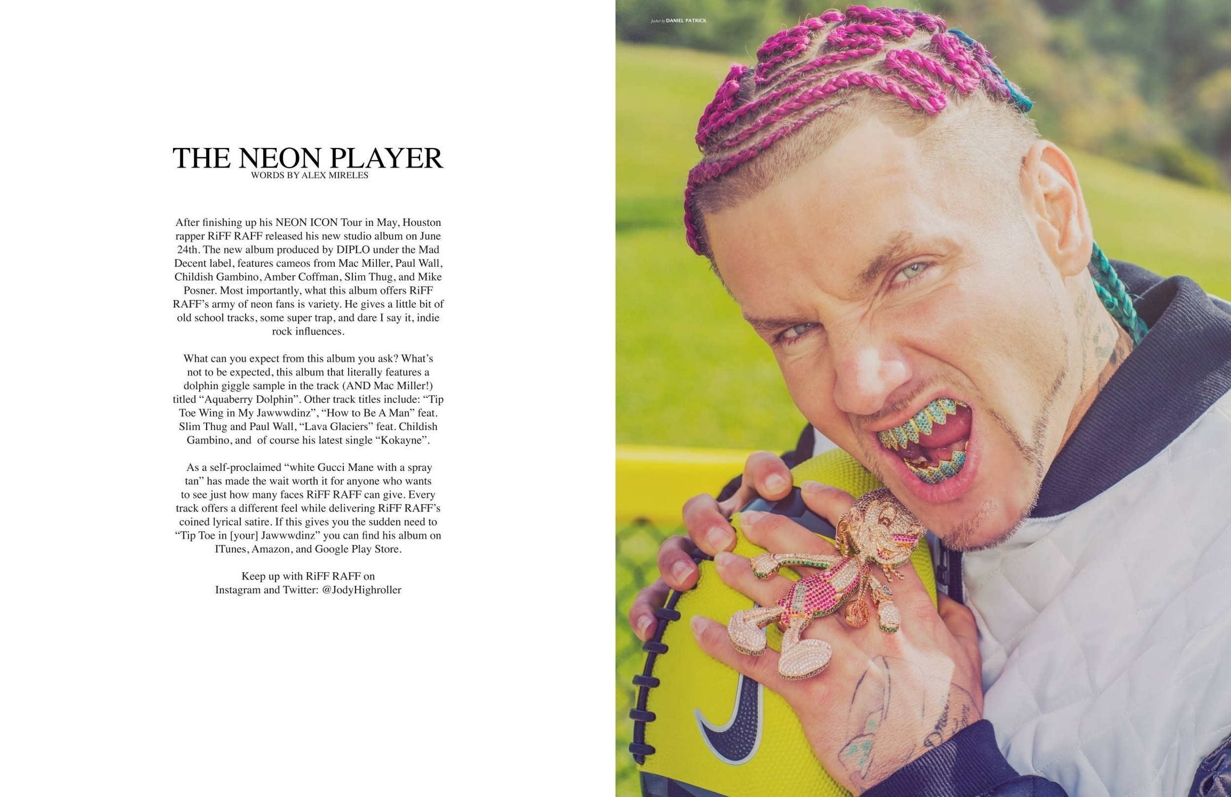 RiFF RAFF for Astonish Magazine