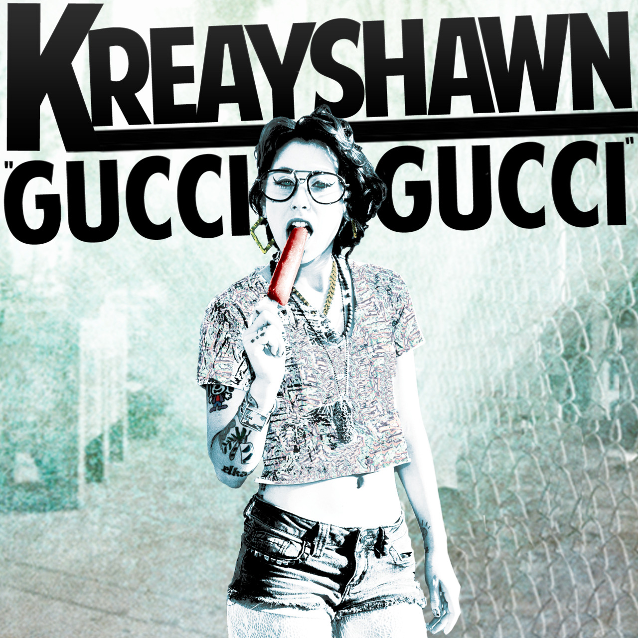 Kreayshawn - Gucci Gucci - Cover Artwork