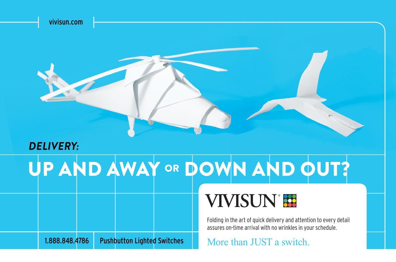 Vivisun Paper Helicopter Ad