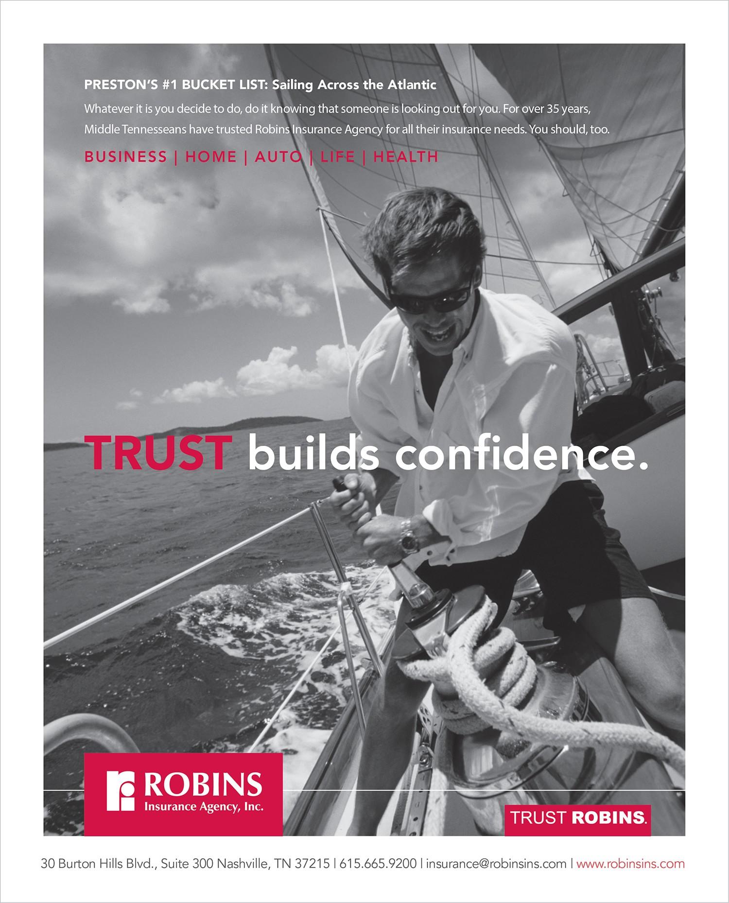 Robins Insurance Agency Ad