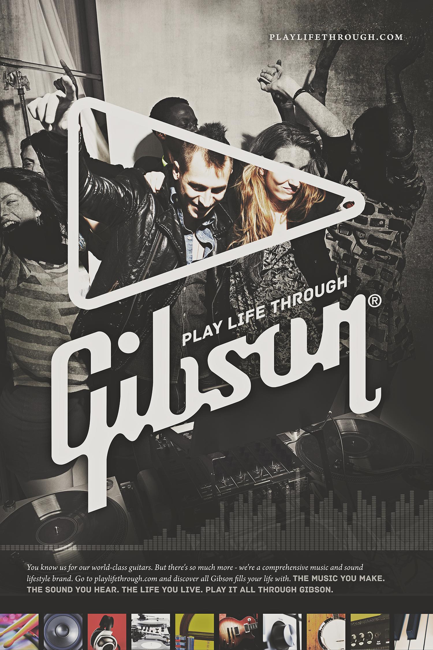 Gibson Guitar Ad