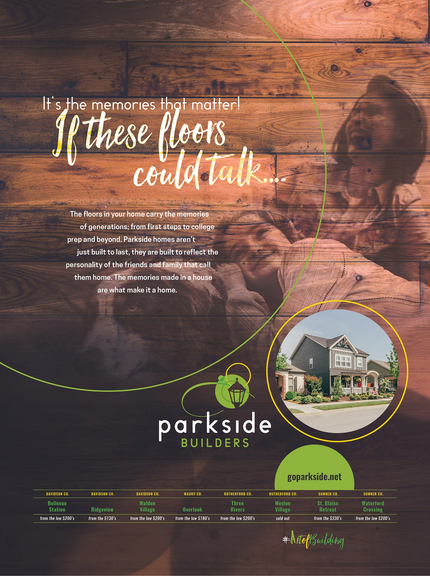 Parkside Builders Ad