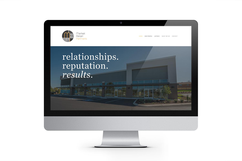 Market Retail Partners Website