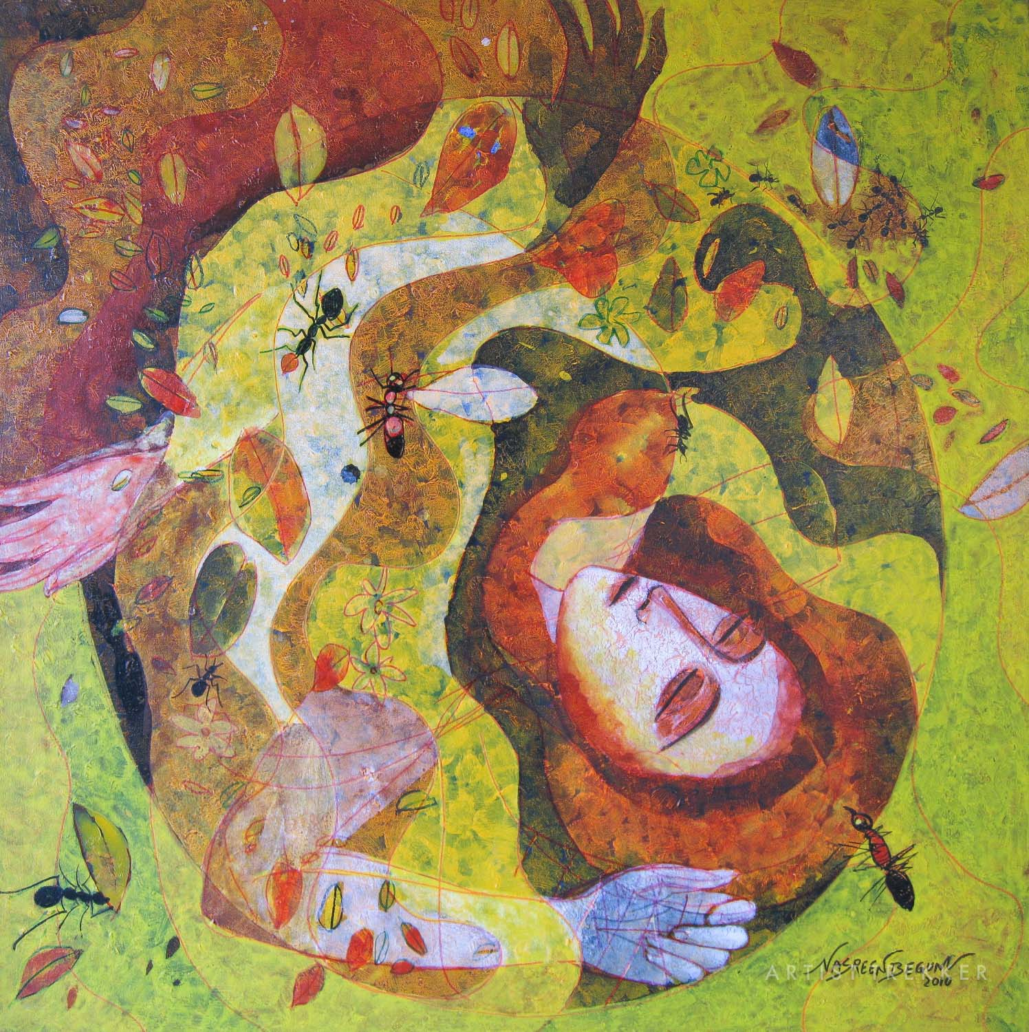 """Nasreen Begum, """"Ant Story-5"""""""