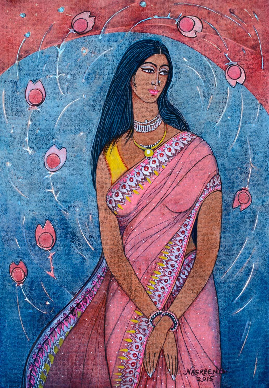 "Nasreen Begum, ""Fashion Model"""