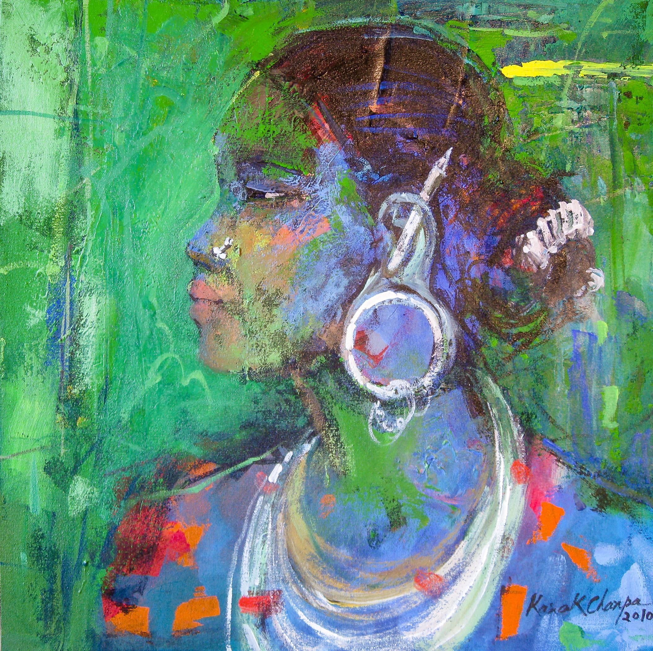 "Kanak Chanpa Chakma, ""Portrait of a Tribe-1"""