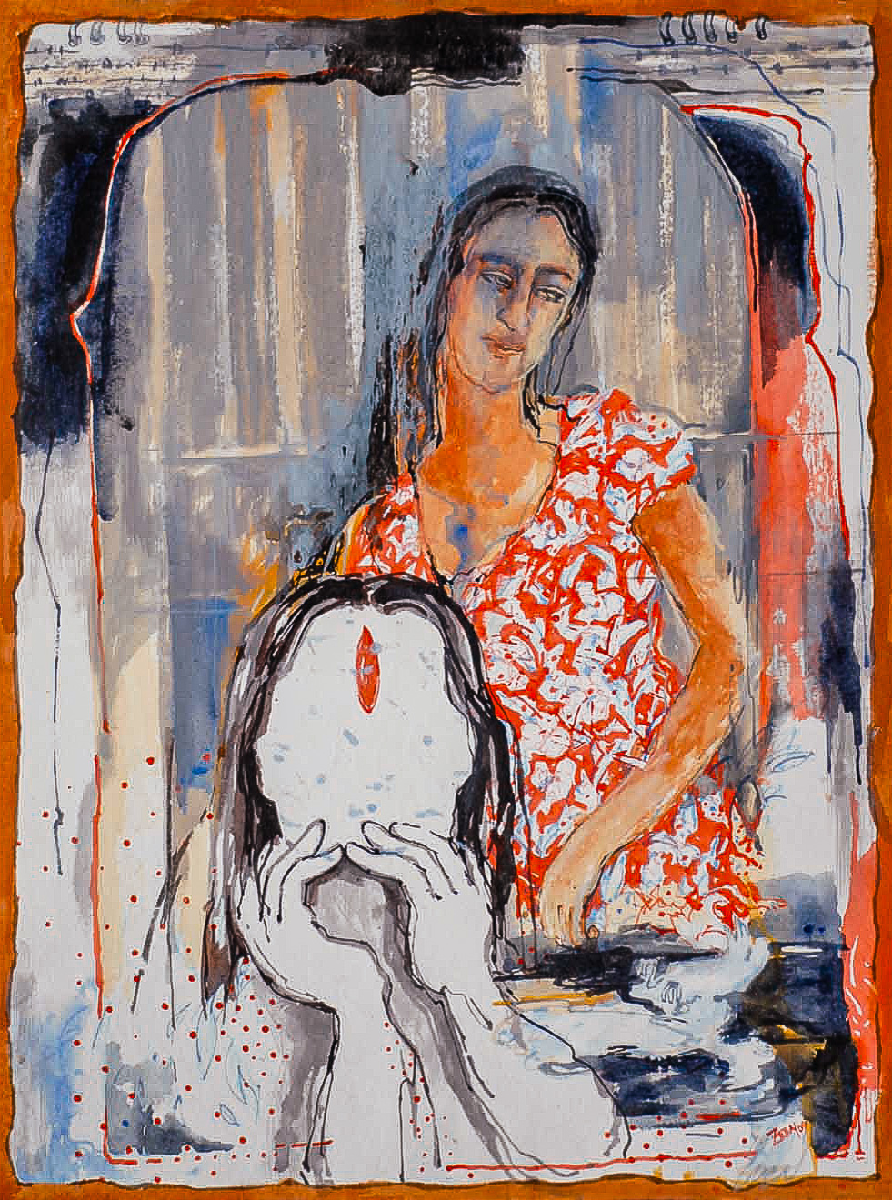 Fareha Zeba - Painting