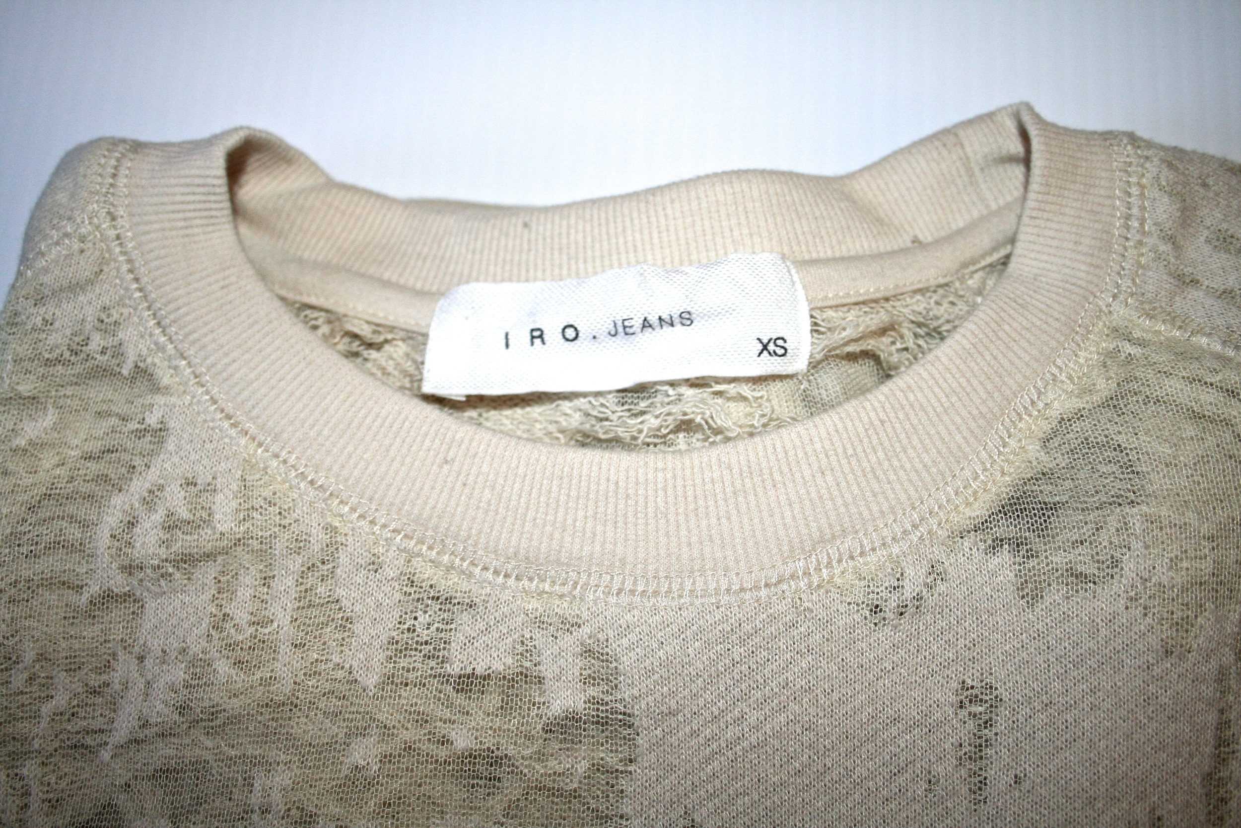 I R O   Jeans distressed sweater from   IRO in Abbott Kinney