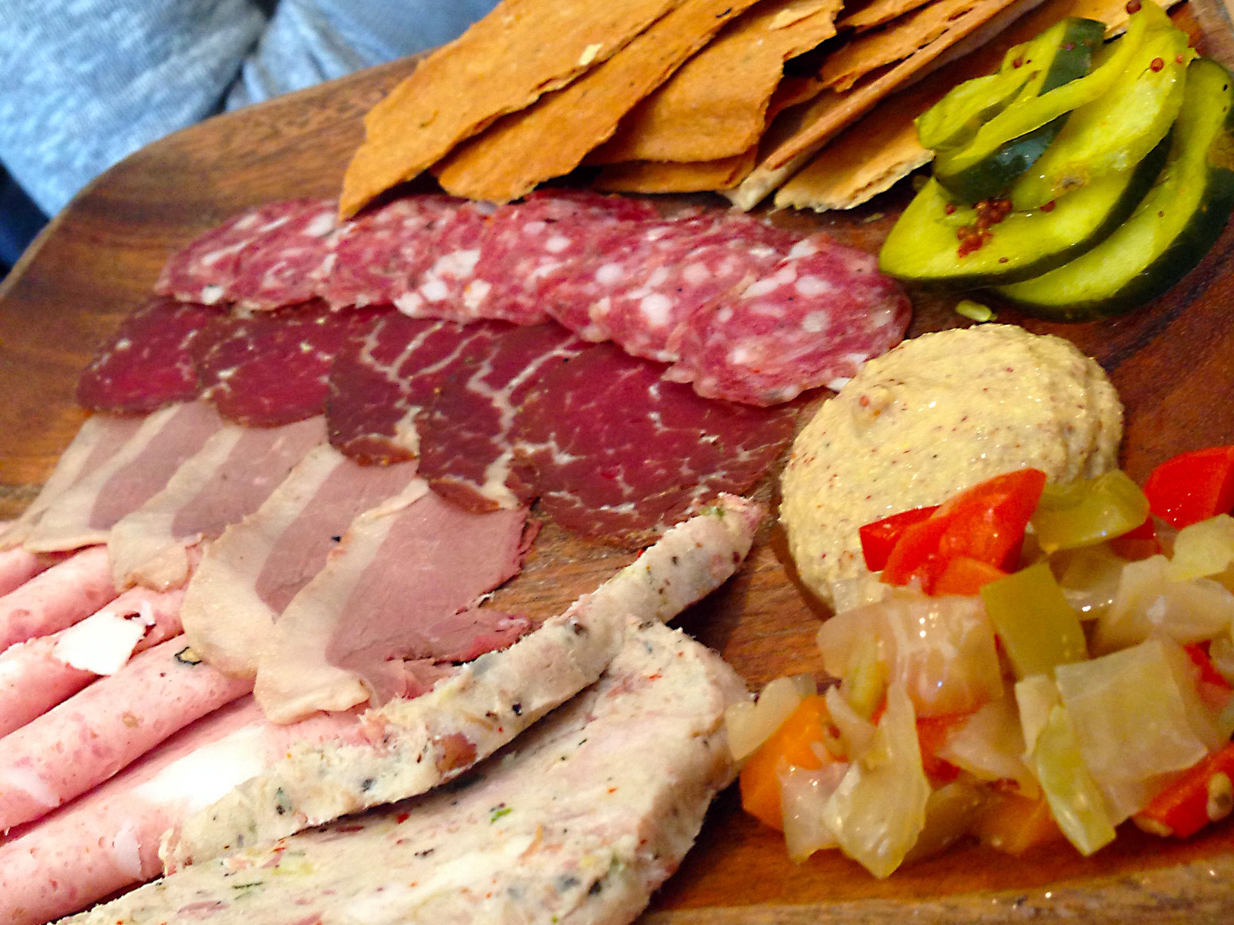 Cochon Butcher Charcuterie Plate