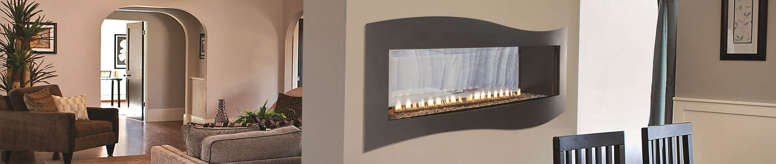 Boulevard See-Thru with Tidal Wave Surround