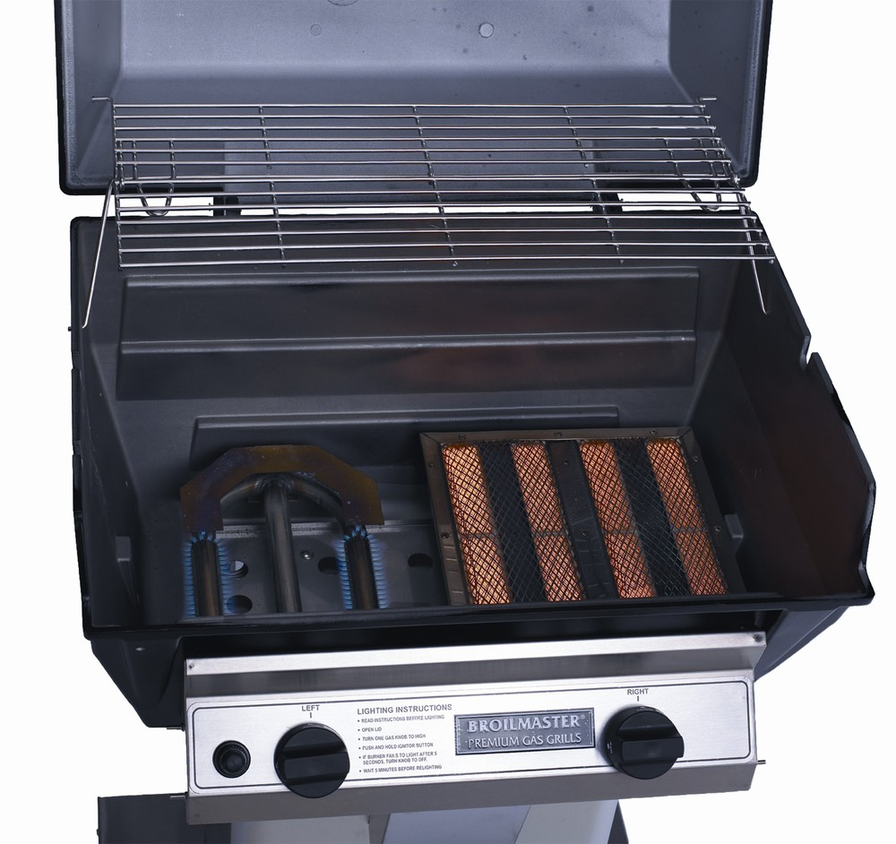 Infrared/Blue Flame Burner Combo