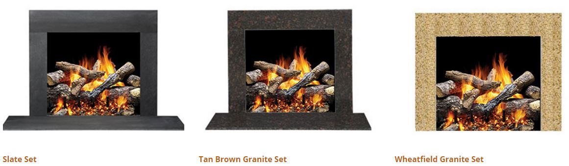 fireside hearth and home mantel stone sets 3