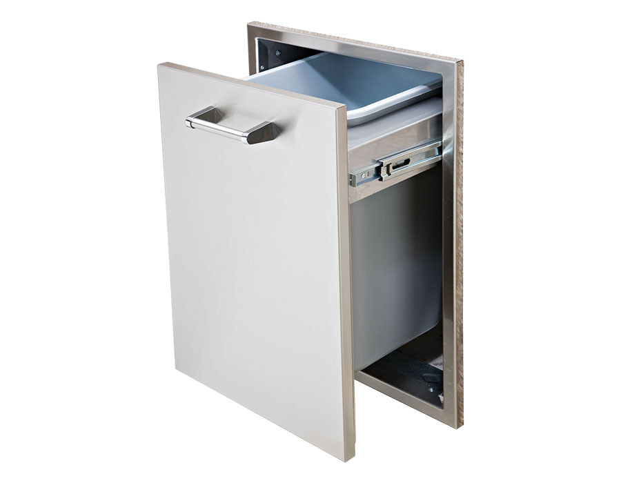 Tall Trash Drawer [DHTD18T-B-LR]