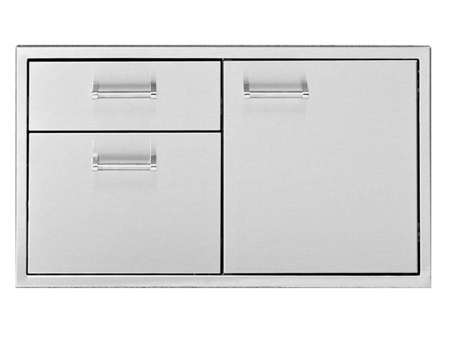 Three Drawer Combo [DHDD-B-LR]