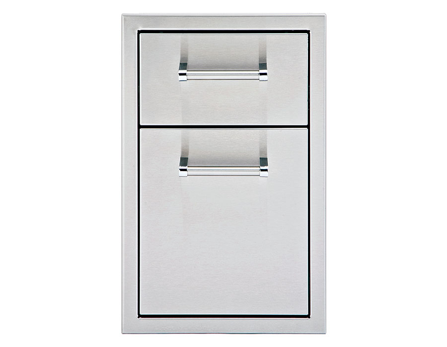13″ Double Storage Drawers [DHSD132-B-LR]