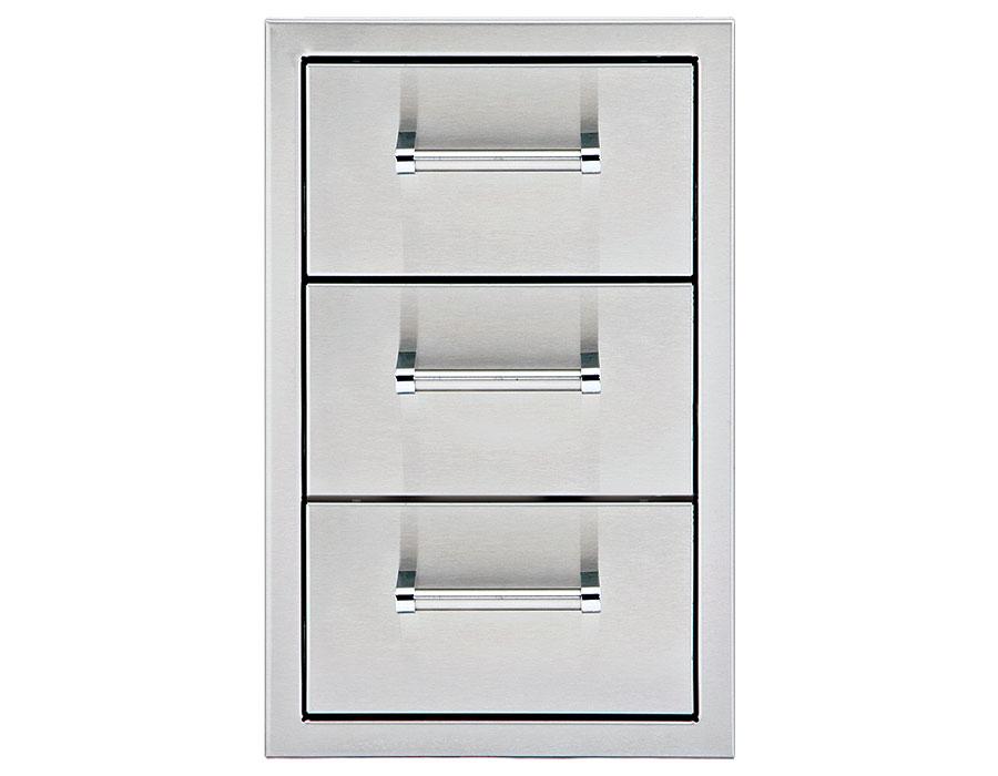 13″ Triple Storage Drawers [DHSD133-B-LR]