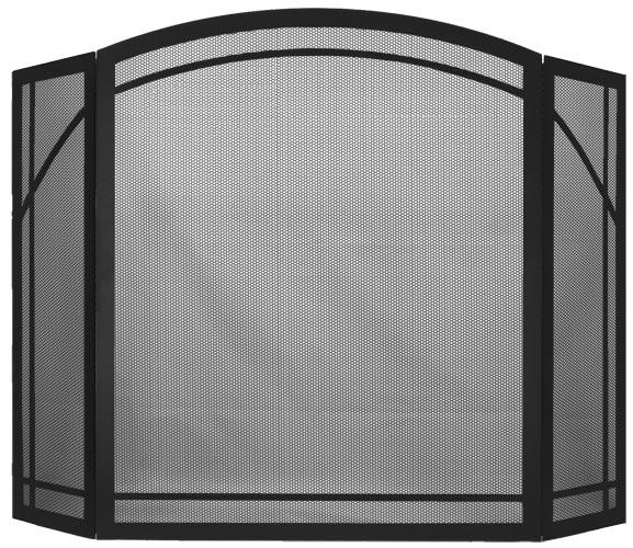 Triple Panel Arch in Matt Black