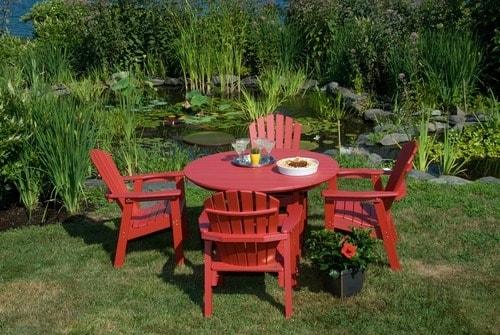 Shell Back Adirondack Dining Chairs