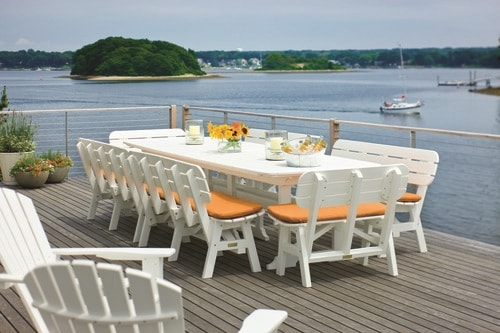 Portsmouth Dining Set 42x130in